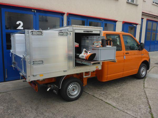 Wenger Carrosserie Aluminium-Dreiseitenkipper Typ Leichtbau